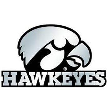 hrome Automobile Emblem (Ncaa Iowa Hawkeyes Decal)