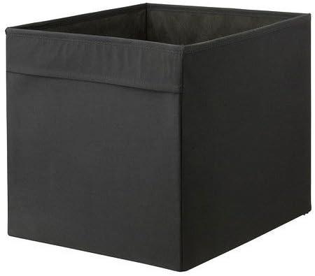 Ikea Caja, Poliéster, Negro, 70x34x3 cm: Amazon.es: Hogar