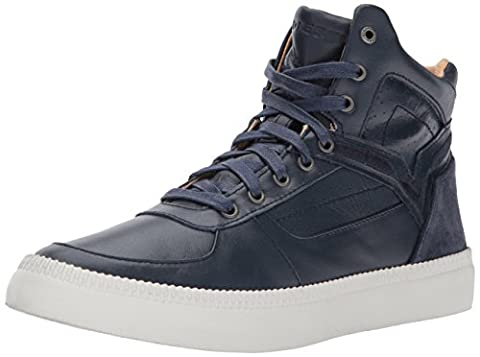 Diesel Men's V S-Spaark Mid Sneaker, Blue Iris, 10 M US (Men Diesel Top)