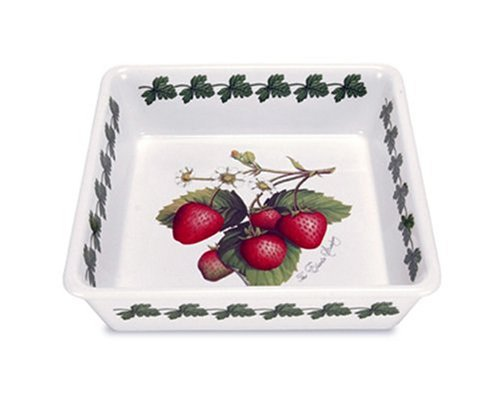 Portmeirion Strawberry (Portmeirion Strawberry Fair Earthenware 12-1/4 x 10-Inch Lasagna Dish)