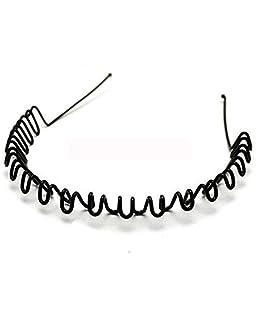 Oyshome Unisex Metal Hair Band (Black)