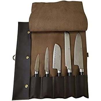 Amazon.com: Ligero Genuine rollo de Premium Chef Cuchillos ...