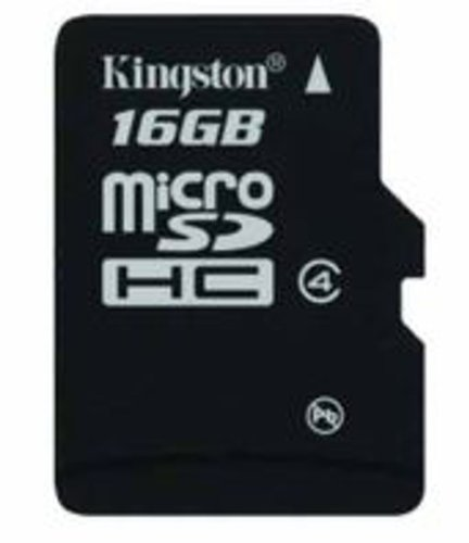Kingston 16 GB Class 4 Micro SDHC Memory Card Micro SD Cards