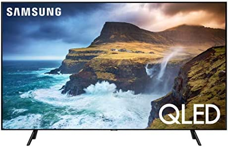 SAMSUNG Q70 Series 75-Inch Smart TV, Flat QLED 4K UHD HDR - 2019 Model