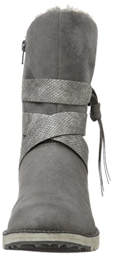 s.Oliver 26481, Botines para Mujer Gris (Graphite Comb. 216)