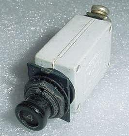7274-2-4, MS26574-4, 4A Slim Klixon Aircraft Circuit ()
