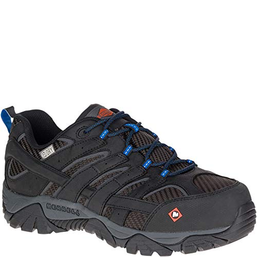 Merrell Moab 2 Vent Waterproof Comp Toe Work Shoe Men 13 Black
