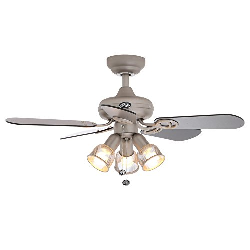 Hampton Bay San Marino 36 In Brushed Steel Ceiling Fan Buy Online In Uae Hampton Bay