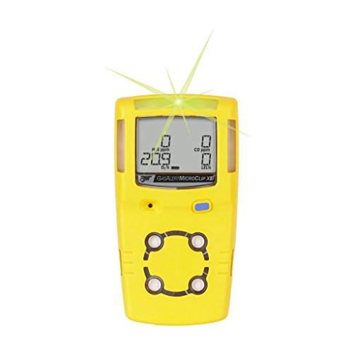 Honeywell MicroClip XL 4 Gas Monitor (O2, CO, H2S, LEL (Un-Filtered