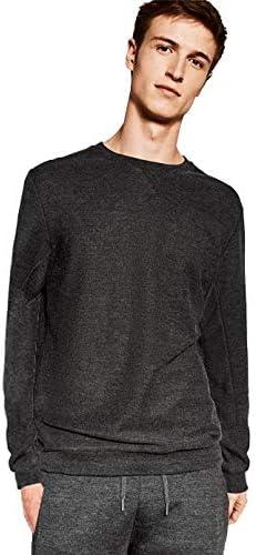 ZARA MEN Round Neck Hoodie & Sweatshirt For Men