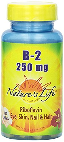 Nature's Life B-2 Tablets, 250 Mg, 4Pack (100 Count Each ) kwk3E by Nature's Life