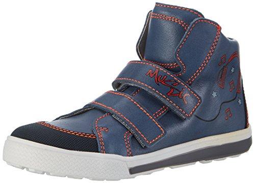 Däumling Gawynn - Zapatilla alta Unisex niños Blau (Fortuna jeans42)