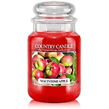 23ounce Country Classics Large Jar Kringle Candle: Macintosh Apple