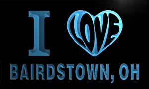 v62888-b I Love BAIRDSTOWN, OH OHIO City Limit Neon Light Sign