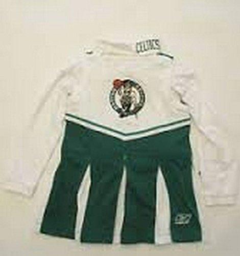 Officially Licensed by the NBA Boston Celtics Cheerleader Outfit (Medium) - Celtics Cheerleaders Costumes