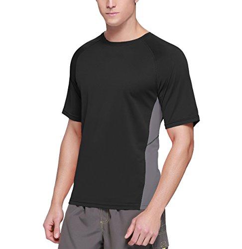 Free Shipping Baleaf Mens Short Sleeve Surf Shirt