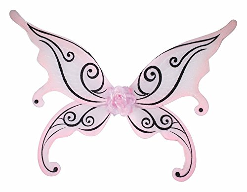 Forum Novelties 74724 Party Supplies Women's Fairy Wings, Pale Pink, Multi ()