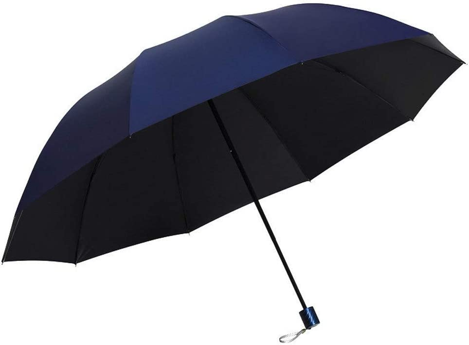 Color : E YSLJH Umbrella Folding Windproof Umbrella Portable Parasol Anti-UV Outdoor Umbrella Double Layer Unisex Travel Umbrella Multi-Color Optional