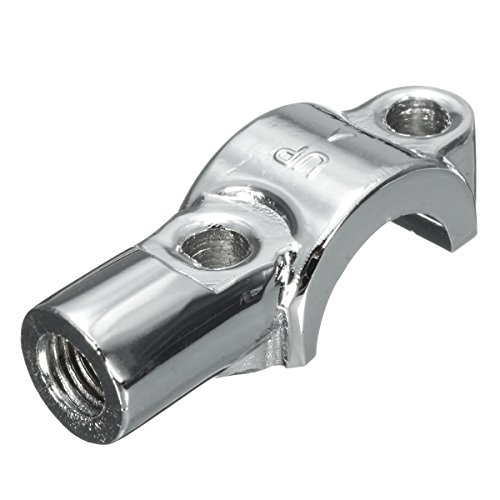 Alamor Brake Clutch Master Cylinder Mirror Mount Bracket 7/8 Inch Universal Motorcycle - Chrome: Kitchen & Home