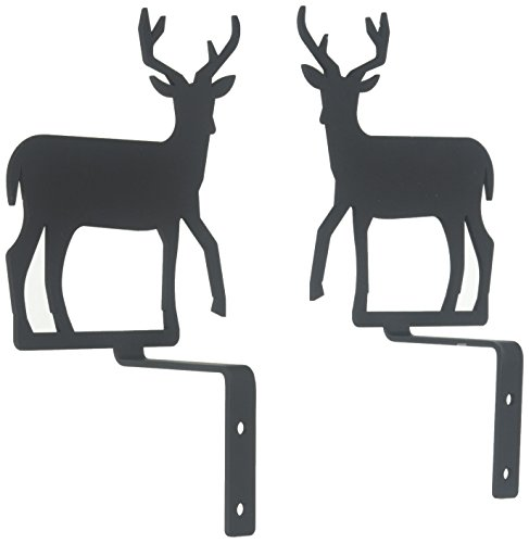 6.25 Inch Deer Curtain Swags Review