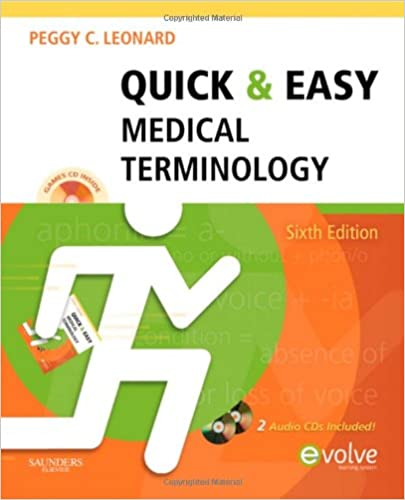 Read Quick & Easy Medical Terminology, 6e (Quick & Easy Medical Terminology (W/CD)) PDF, azw (Kindle), ePub, doc, mobi