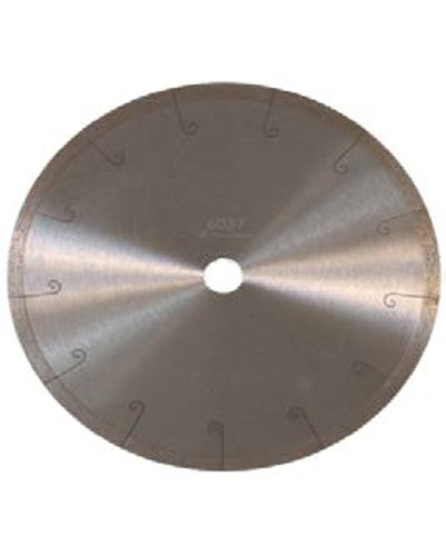 """- Continuous J Slot Blade Sintered Diamond Rim 14"""" Blade Great on Porcelain Tile, Marble and Ceramic"""