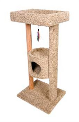 - Ware Manufacturing Kitty Tree Top Terrace Scratch Post