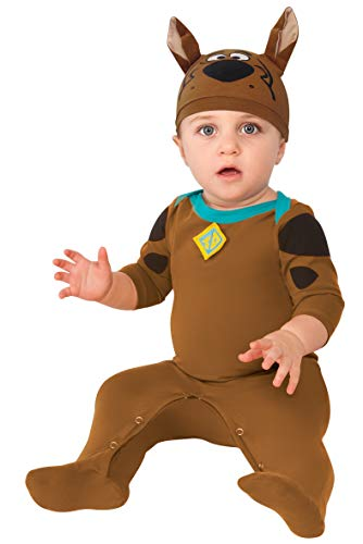 Rubie's Baby Boys' Scooby Doo Romper Costume, Multi, 6-12 Months