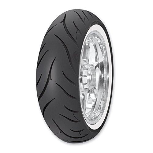 Cobra Rear Tire - Avon AV72 Cobra MT90-16 Wide Whitewall Rear Tire 4700215