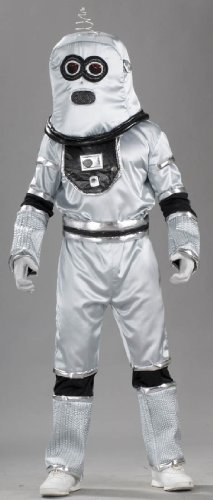 Forum Novelties Men's Robot Adult Costume, Multicolor, (Mens Alien Costumes)