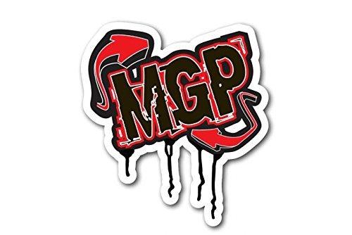 202-047 Mgp Drip Logo Red Sticker