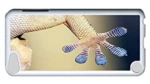 Rugged iPod Touch 5 Case, Gecko Foot PC White Plastics Hardshell Case for iPod Touch 5 /iPod 5/ iPod 5th Generation