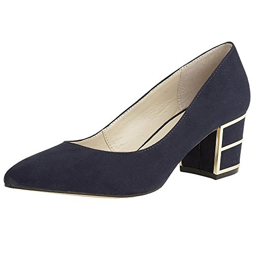 Classic Mercy Court Navy Womens Lotus Shoes qxBgZ7qw