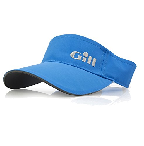 GILL Regatta Visor Bright Blue - Unisex - Lightweight. Breathable - Hidden Adjustment System.