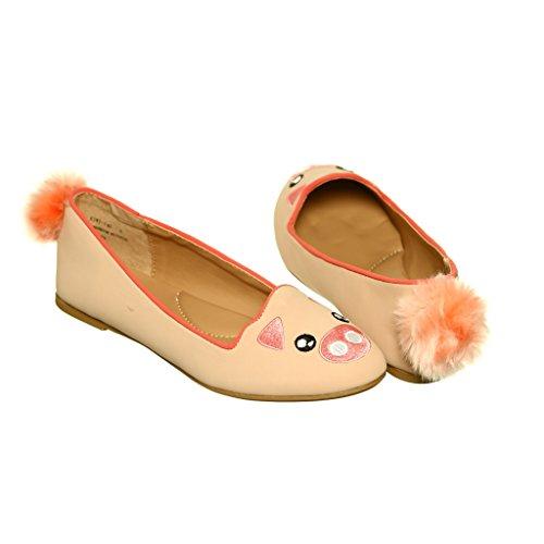 Qualsiasi Nuovo Stile !! Scarpe Basse Slip-on Da Donna Mocassini Animali Piggy