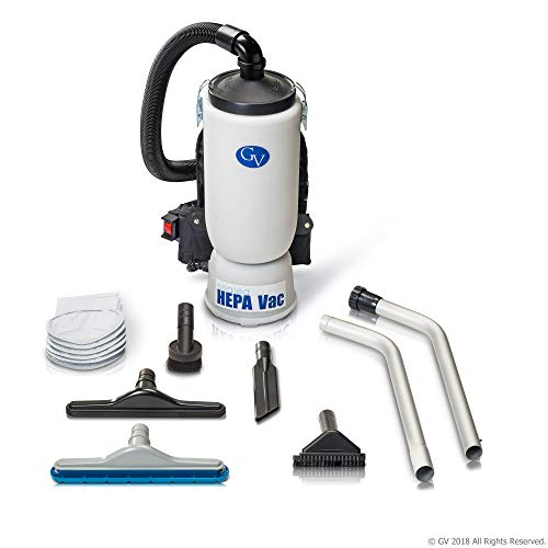 New GV 6 quart HEPA backpack back pack vacuum with for sale  Delivered anywhere in USA