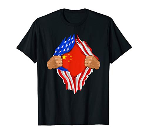 Chinese Blood Inside Me T-Shirt | China Flag Gift