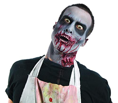 Tutorial On Zombie Makeup (Rubie's Costume Co Zombie Makeup Kit)