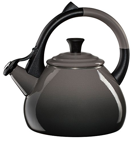 Steel 1.6 Quart Oolong Tea Kettle, Oyster (Loop Tea Kettle)