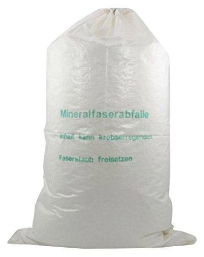 Berühmt Mineralwoll Saecke Mineralwolle/KMF Bag 220 cm Entsorgung Sack IL07