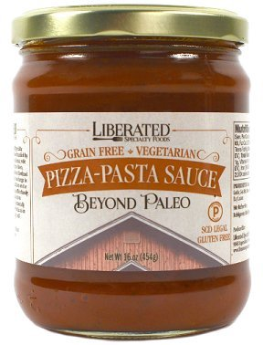 Liberated Pizza-Pasta Sauce, Paleo