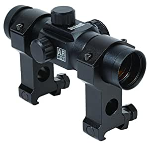 Bushnell AR Optics 1x 28mm Red Dot Riflescope with Tactical Rings, Matte Black
