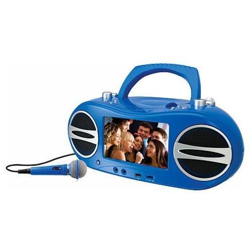 BD717BU Radio DVD Player Boombox product image