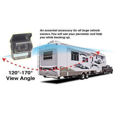 Performance Teknique ICBM-5299 Truck/Bus/RV Vehicle Rear View Night Vesion Wide Angle Color Camera