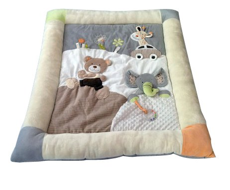 X-Large MiniDream Soft Baby Playmat Activity Gym with Storage Bag