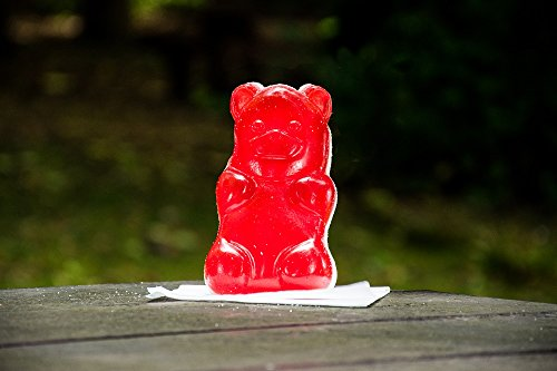 Jumbo Strawberry Flavoured Jelly Bear 400g