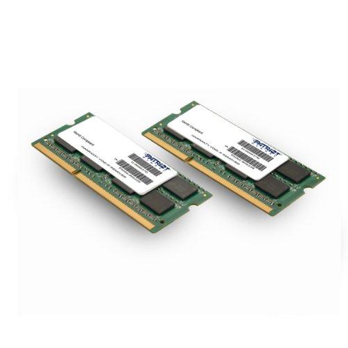 Patriot Mac Series 8GB Apple SODIMM Kit (2X4GB) DDR3 1333 PC3 10600 204-Pin SO-DIMM PSA38G1333SK by Patriot (Image #4)