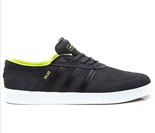 Adidas Silas Vulc Adv - dgsogr/cblack/syello, Größe Adidas:7.5