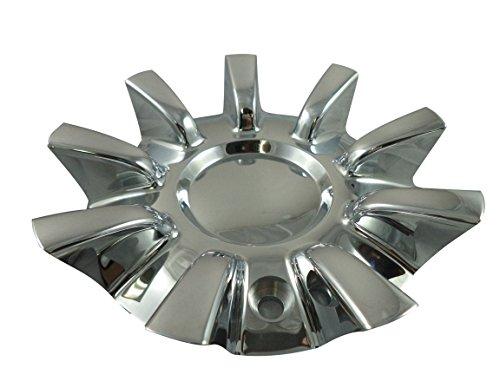 Driv/Vogue Wheels 8690-15/056R185 Chrome Custom Wheel Center Caps (1 CAP) (Vogue Cap)