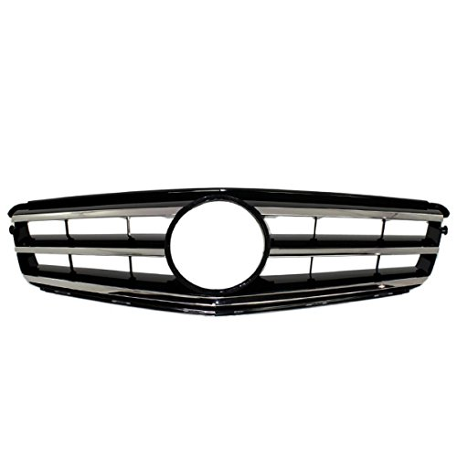 Koolzap For 08-14 C-Class Sport Package Front Grill Grille Assembly MB1200148 20488000239744